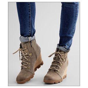 Sorel Joan Uptown™ Waterproof Leather Wedge Boot